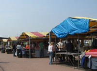 Eastville open-air market